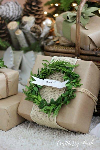 Karácsonyi ajándékcsomagolás 10