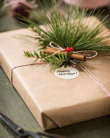 Karácsonyi ajándékcsomagolás 12