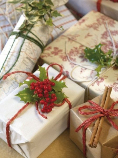 Karácsonyi ajándékcsomagolás 14