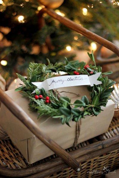 Karácsonyi ajándékcsomagolás 15