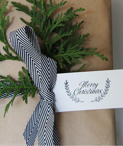 Karácsonyi ajándékcsomagolás 2