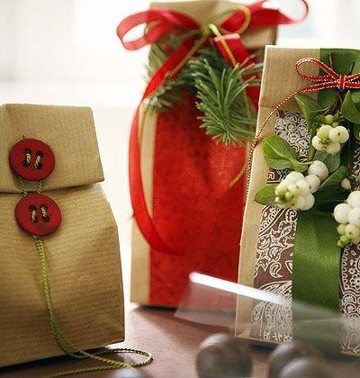 Karácsonyi ajándékcsomagolás 3