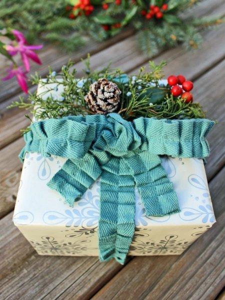 Karácsonyi ajándékcsomagolás 6