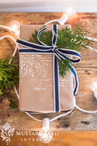 Karácsonyi ajándékcsomagolás 7
