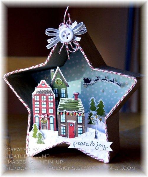 Karácsonyi papírdíszek 22