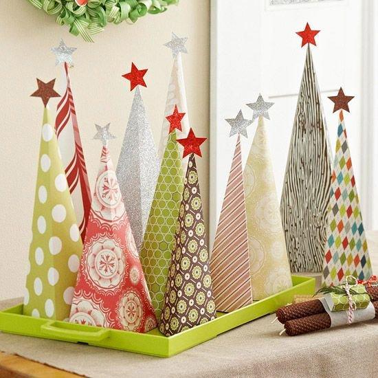 Karácsonyi papírdíszek 9